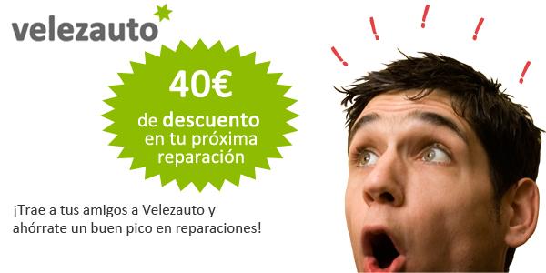 40€ de descuento en tu próxima reparación